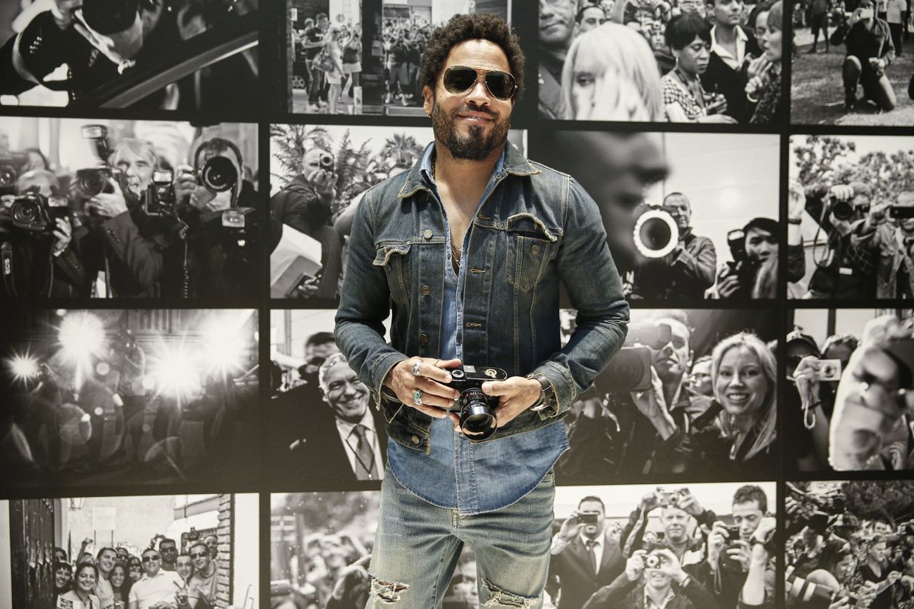 Lenny Kravitz, Leica, näyttely, photo